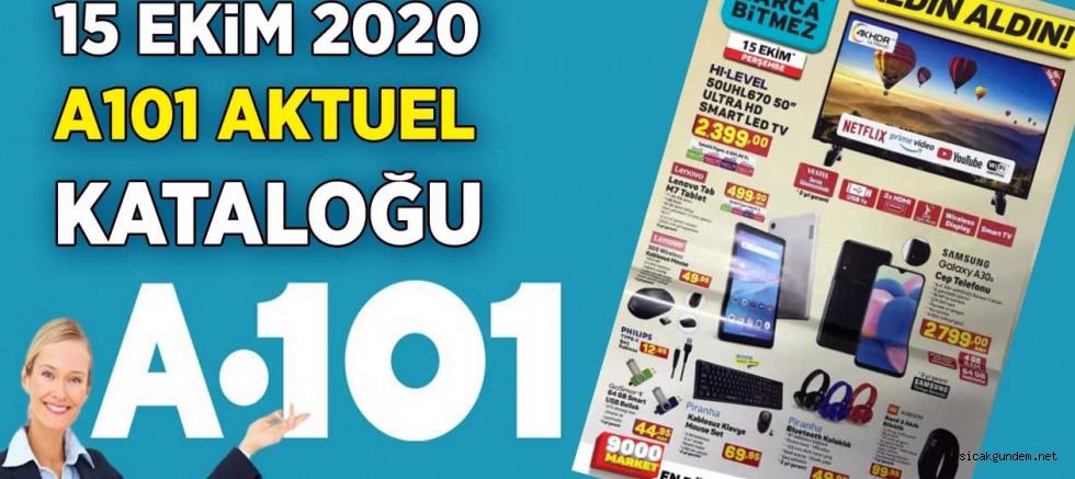 A101 15 Ekim 2020 Aktüel Katalogu Yayınlandı!