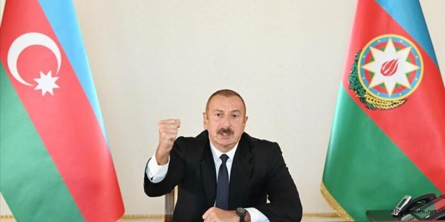 Aliyev Resti Çekti Sert Konuştu