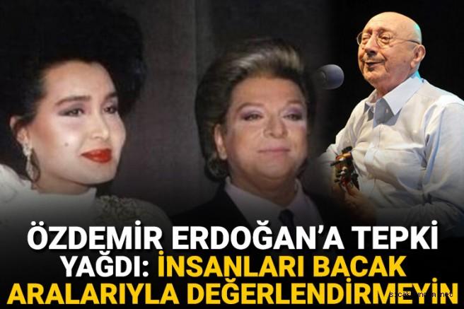 Bülent Ersoy'dan Özdemir Erdoğan'a Tepki