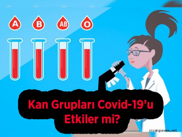 Kan Grupları Covid-19'u Etkiler mi?