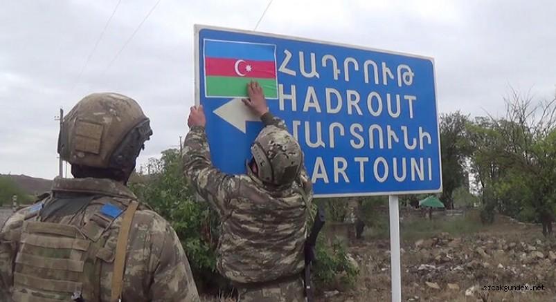 Son Dakika Karabağda Bayrak Değişti