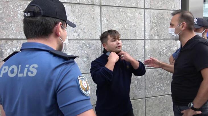 Tuzla'da Maskesiz Şahıs Polisi Tehdit Etti
